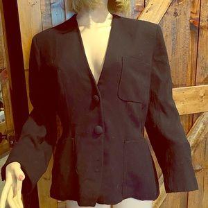 Donna Karan black blazer